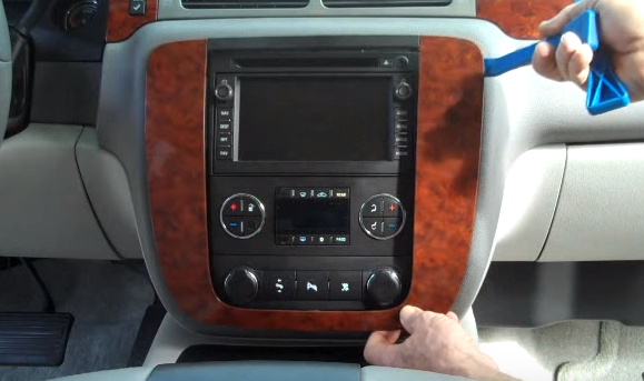 hot to replace a 2007 2013 gmc yukon car stereo with gps. Black Bedroom Furniture Sets. Home Design Ideas
