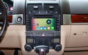 2003-2014 VW Volkswagen T5 Multivan head unit after installation
