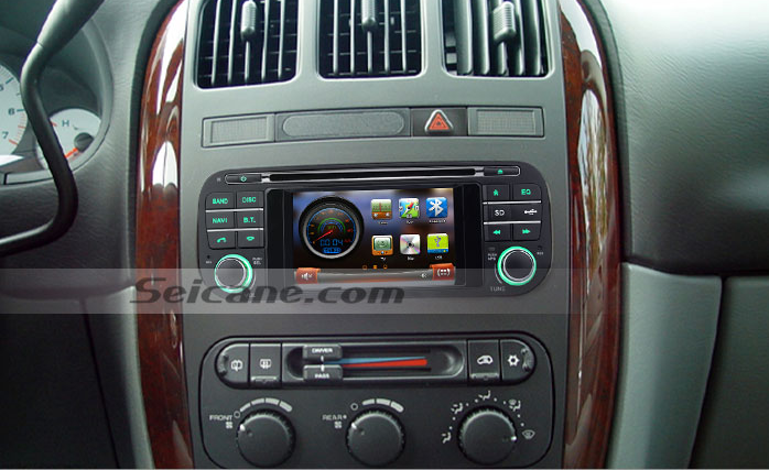 skillfully upgrade a 2004 2005 dodge neon head unit with. Black Bedroom Furniture Sets. Home Design Ideas