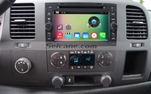 2007-2013 GMC Yukon car stereo after installation