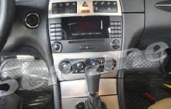 The picture of the original car radio and 6-disc original car radio