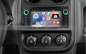 2009 2010 2011 Jeep Compass car stereo after installation