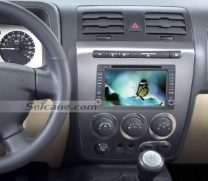 Buick GL8 car stereo after installation