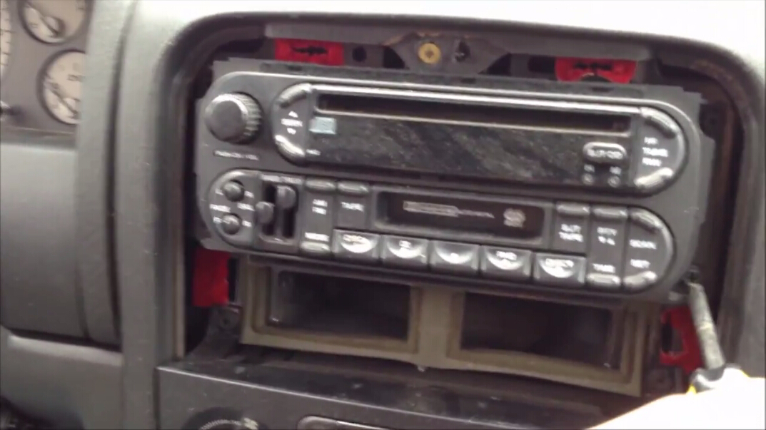 Remove Screws Which Holds The Factory Radio In Place on dodge ram 1500 radio wiring diagram