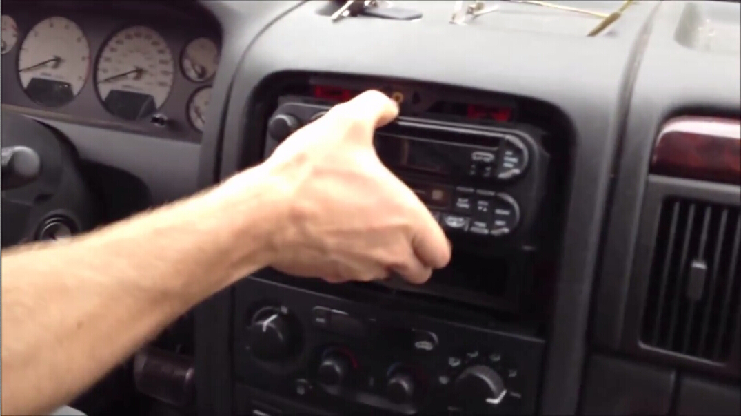 Take Out The Factory Radio And Disconnect The Wires From The Car on 2002 Dodge Truck Wiring Diagram