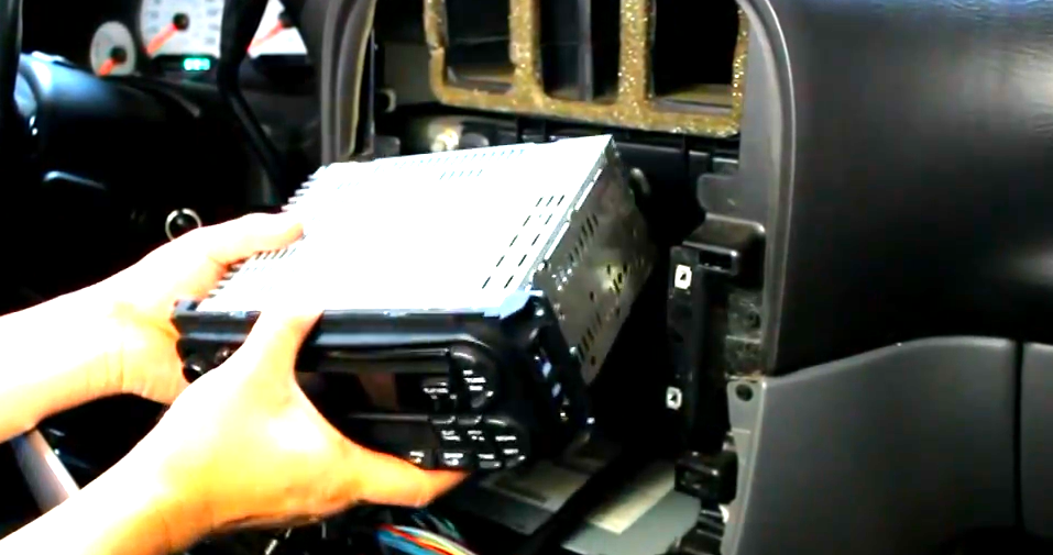 Take Out The Factory Radio on Jeep Grand Cherokee Stereo Wiring Diagram
