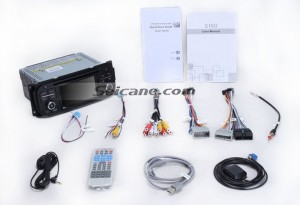 Check all the accessories for the new Seicane car radio