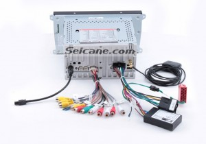 Connect the cables of the new Seicane car radio according to the guidance of the user manual