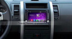 2001-2011 Nissan MP300 NP300 car radio after installation.