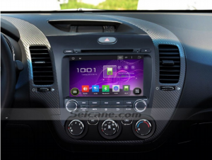 2013 KIA FORTE Left Smart dvd gps Sat Navi after installation