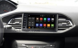 2015 Peugeot 308S navigation system dvd player after installation
