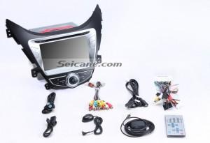 Check all the accessories for the new Seicane head unit