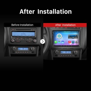 2011 2012 2013 VW Volkswagen New Beetle 2 Car Radio after installation