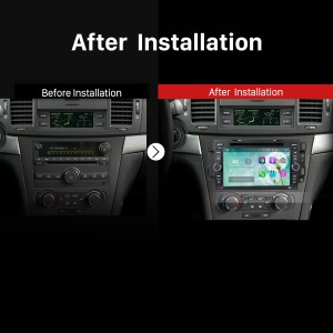 2006 2007 2008 2009 2010-2011 Chevy Chevrolet LOVA Bluetooth DVD GPS Car Radio after installation