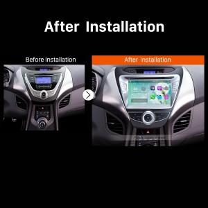 2011 2012 2013 Hyundai AvanteCar Radio after installation