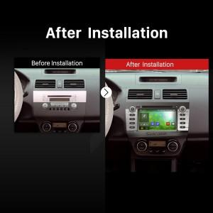 2004 2005 2006 2007 2008-2010 SUZUKI SWIFT GPS Bluetooth DVD Car Stereo after installation