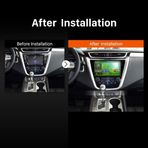 2015 Nissan Murano Car Radio after installation