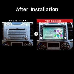 2001 2002 2003 2004 2005-2010 Hyundai Elantra Lavita Bluetooth DVD Car Radio after installation