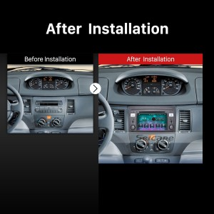 2003 2004 2005 2006 2007 Fiat Idea Car Stereo after installation