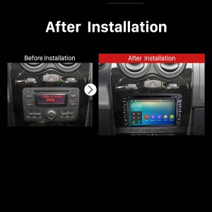 2010 2011 2012 2013 2014-2016 Renault Duster GPS Navi Car Stereo after installation