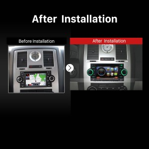2006 2007 Mitsubishi Raider GPS Bluetooth Radio Stereo after installation