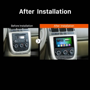 2005 2006 2007 2008-2010 Buick GL8 car radio after installation