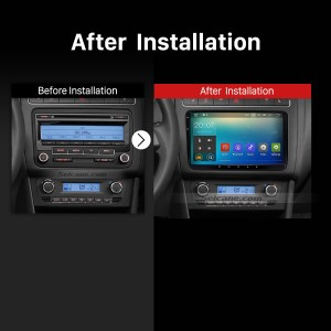2005 2006 2007 2008-2013 VW Volkswagen Jetta SAGITR car radio after installation