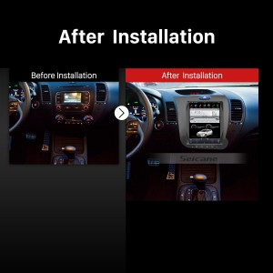2013 2014 2015 KIA CERATO K3 FORTE Car radio  after installation