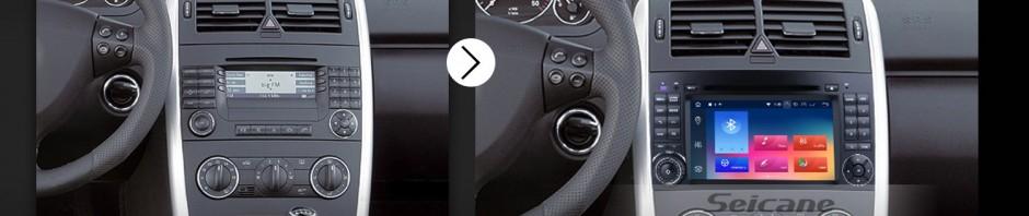 2006 2007 2008 2009-2012 Mercedes Benz Viano Vito car radio after installation