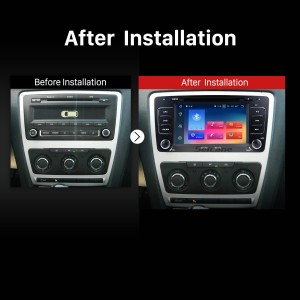 2009 2010 2011 2012 2013 Skoda Octavia     Bluetooth GPS DVD Car Radio after installation