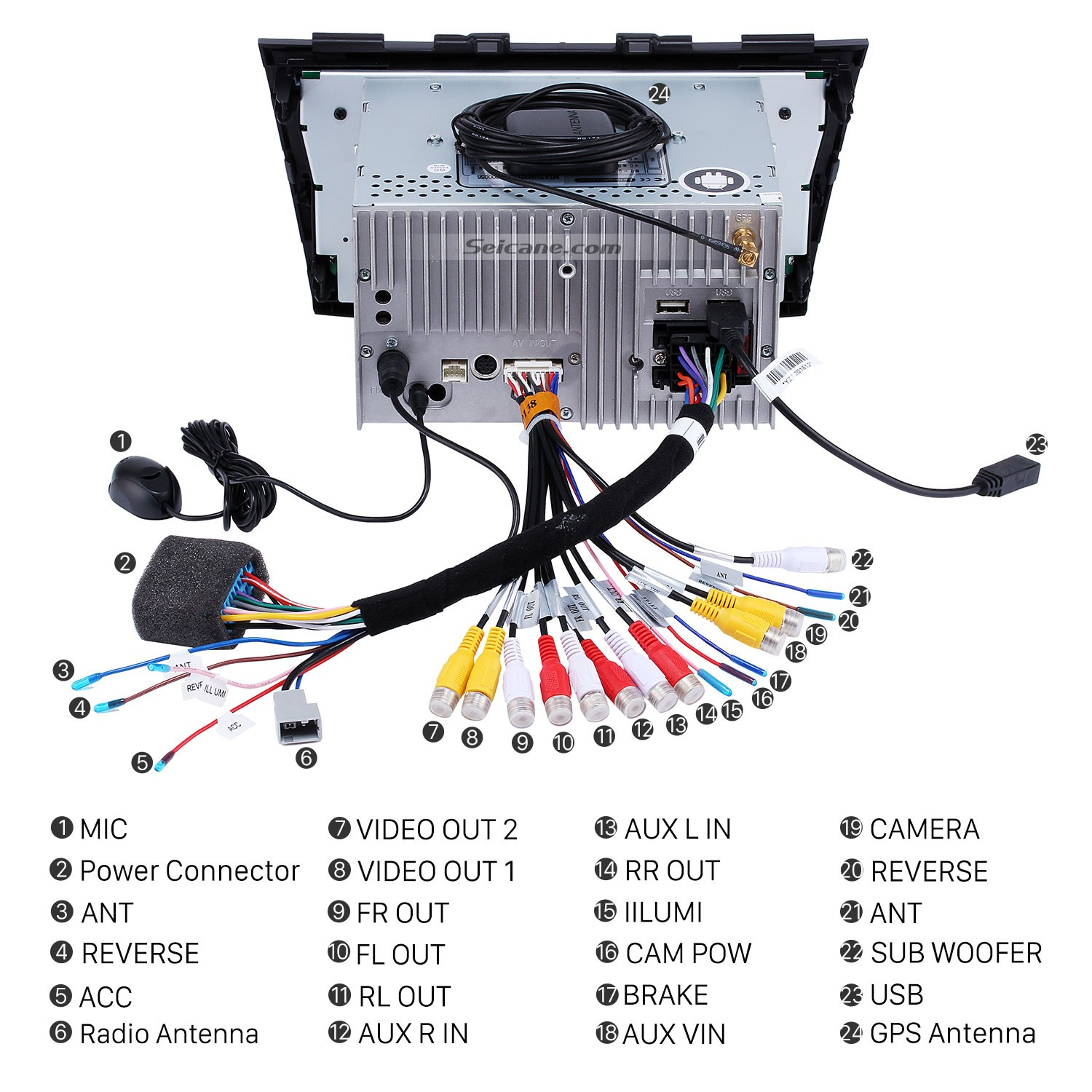 2013 Toyota Venza Oem Radio Wiring Harness Diagram Moreover Car ...
