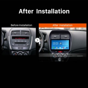 2012 CITROEN C4 Car Radio after installation