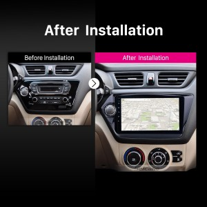 2011 2012 2013 2014-2015 KIA RIO car radio after installation