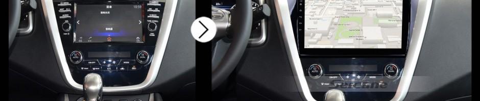 2015 Nissan Murano Car Radio after installation