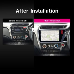 2014 2015 2016 2017 HONDA CITY RHD car radio