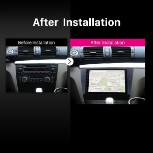 2005 2006 2007 2008-2012 BMW 3 Series E90 E91 E92 E93 Manual Air-conditioner car radio after installation