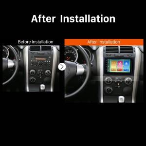 2005 2006 2007 2008-2013 Suzuki Vitara Car Stereo after installation