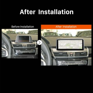 2013 2014 2015 2016 BMW 2 Series F22 F45 MPV NBT car radio after installation